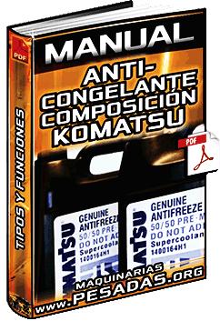 Manual de Anticongelantes – Tipos, Composición y Soluciones Komatsu