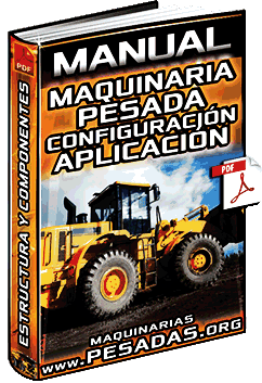 Manual de Maquinaria Pesada – Partes, Cucharones, Configuración y Aplicación