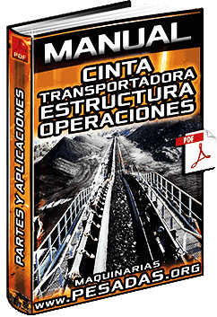 Manual: Cintas Transportadoras - Tipos, Estructura, Operaciones y Aplicaciones
