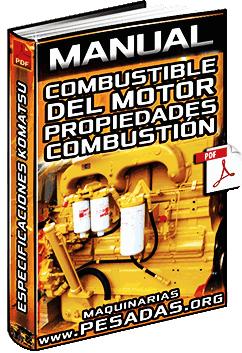 Manual de Combustible del Motor Diésel Komatsu – Propiedades y Combustión