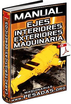Manual de Ejes Interiores y Exteriores de Maquinaria Pesada – Componentes