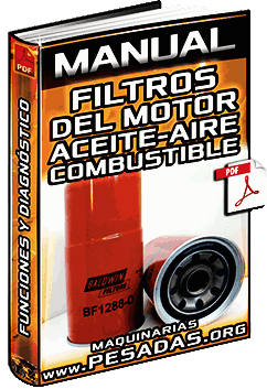 Manual de Filtros de Aceite, Aire y Combustible para el Motor – Komatsu