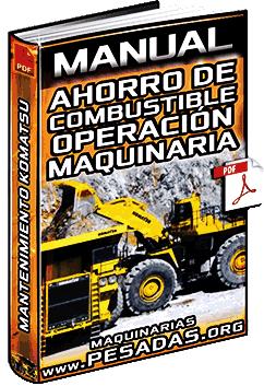 Manual de Ahorro de Combustible en la Operación de Maquinaria y Mantenimiento