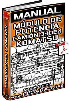 Manual de Módulo de Potencia del Camión 930E-4 Komatsu – Montaje y Desmontaje