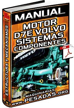 Manual: Motor D7E Volvo - Componentes, Sistemas, Combustible y Funcionamiento