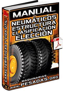 Manual de Neumáticos – Estructura, Clasificación, Causas de Daños y Elección