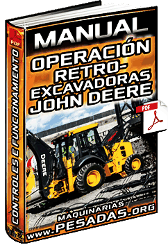 Manual: Operación de Retroexcavadoras John Deere – Controles e Funcionamiento