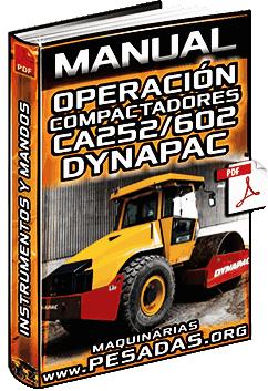 Manual de Operación de Rodillos Compactadores CA252 a CA602 Dynapac