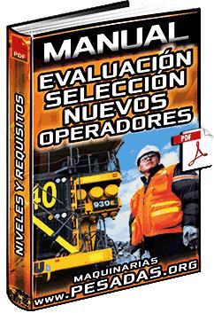 Manual: Evaluación y Selección de Nuevos Operadores – Etapas, Niveles y Requisitos