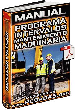Manual de Programa de Intervalos de Mantenimiento de Maquinaria Pesada