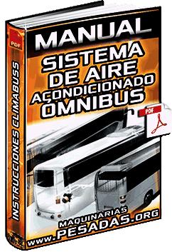Manual de Sistema de Aire Acondicionado para Ómnibus - Instrucciones y Mecanismo