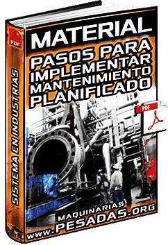 Pasos para Implementar un Sistema de Mantenimiento Planificado en Industrias
