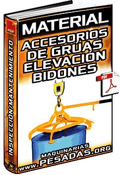 Accesorios de Grúas para Elevación de Bidones – Cables, Eslingas e Inspección
