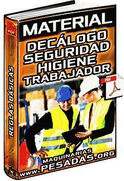 Material: Decálogo de Seguridad e Higiene - Reglas Básicas de Trabajadores