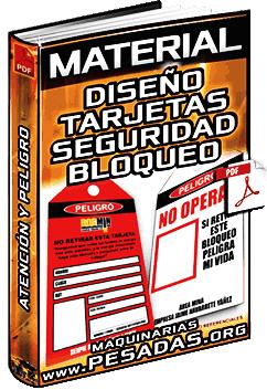 Material: Diseños de Tarjetas de Bloqueo y Etiquetado de Seguridad