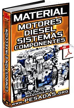 Historia de Motores Diesel - Combustión, Inyección, Sistemas y Componentes