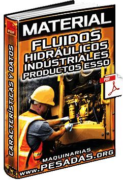 Fluidos Hidráulicos Industriales - Viscocidad, Antidesgaste y Oxidación