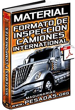 Formato de Inspección de Camiones International – Sistemas y Componentes
