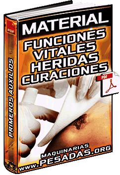 Funciones Vitales y Procedimiento de Curación de Heridas – Primeros Auxilios