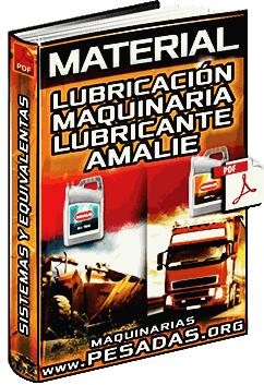 Material: Lubricación de Sistemas de Equipos Pesados con Lubricantes Amalie