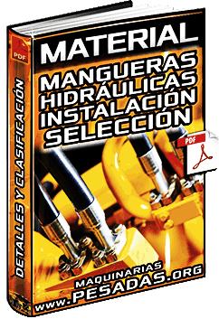 Mangueras Hidráulicas - Instalación, Selección del Diámetro y Clasificación