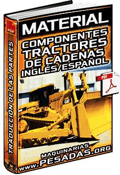Material: Partes del Tractor de Cadenas de Inglés a Español - Traducción
