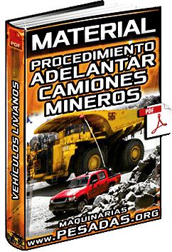 Material: Procedimiento para Adelantar Camiones Mineros – Vehículos Livianos