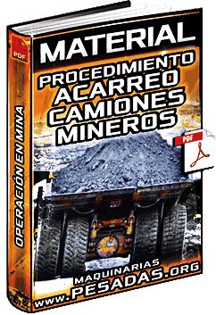 Material: Procedimiento Operativo de Acarreo de Material de Camiones Mineros