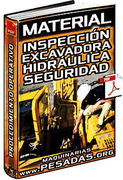 Procedimiento Operativo de Inspección de la Excavadora Hidráulica - Seguridad