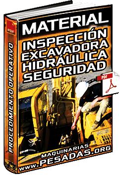 Procedimiento Operativo de Inspección de la Excavadora Hidráulica – Seguridad