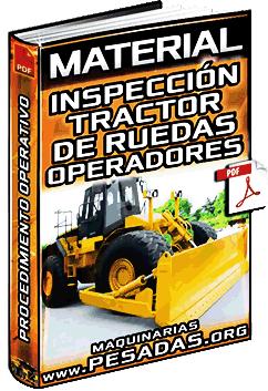Inspección del Tractor de Ruedas por Operadores - Procedimiento Operativo