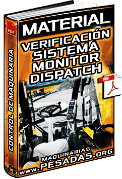 Material: Verificación de Sistema Monitor de Maquinaria Pesada – Control Dispatch