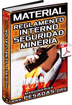Reglamento Interno de Seguridad e Higiene Minera para Trabajadores