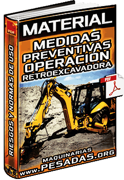 Material: Riesgos y Medidas Preventivas en la Operación de Retroexcavadoras