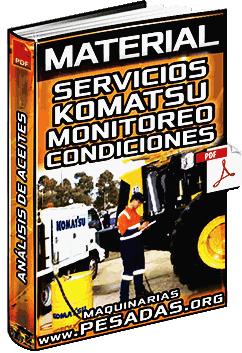 Material: Análisis de Aceites y Monitoreo de Condiciones - Servicios Komatsu