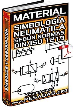 Simbología Neumática - Energía, Válvulas Distribuidoras, Bloqueo y Presión