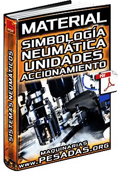 Material de Simbología en Neumática - Unidades, Accionamiento y Lógica