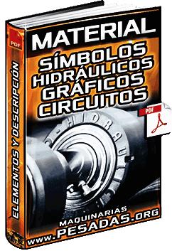 Símbolos Hidráulicos - Cilindros, Bombas, Válvulas, Presión y Accionamiento