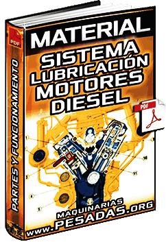 Material: Sistema de Lubricación del Motor Diesel - Componentes y Funciones