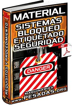 Material: Sistemas de Bloqueo y Etiquetado de Seguridad - Procedimiento