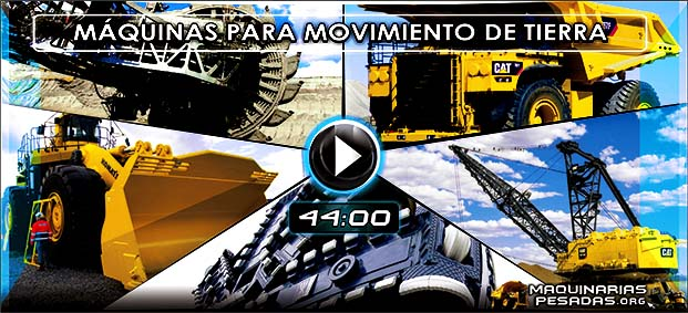 Vídeo Documental de Máquinas Gigantes para Movimiento de Tierras