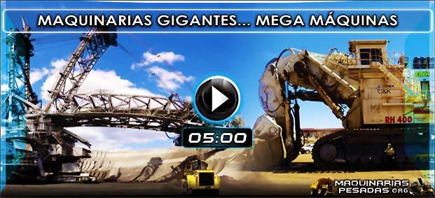 Vídeo Documental de Maquinaria Pesada y Máquinas Gigantes más Grandes