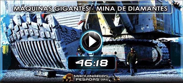 Vídeo Documental de Máquinas Gigantes en la Mina de Diamantes de Ekati