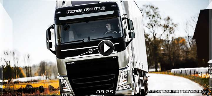 Vídeo de la Cabina del Camión FH Volvo - Tecnología, Características y Beneficios