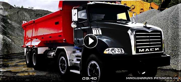 Vídeo de Camión Volquete Mack Granite con Caja Volcadora Baco – Detalles