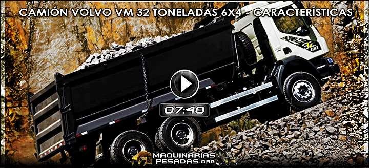 Vídeo del Camión Volquete Volvo VM 32 Toneladas 6x4 - Beneficios y Detalles