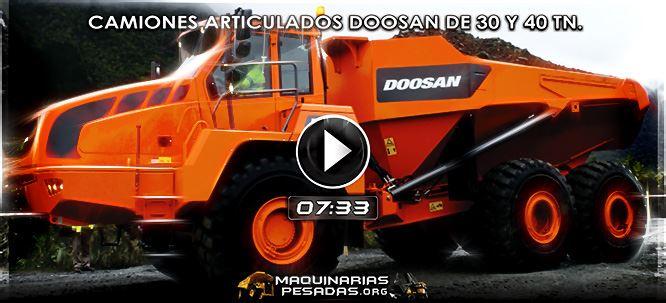 Vídeo de Camiones Articulados Doosan de 30 y 40 TN - Beneficios y Características