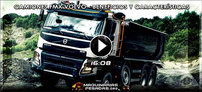 Vídeo de Camiones FMX Volvo para Aplicaciones Fuera de Carretera