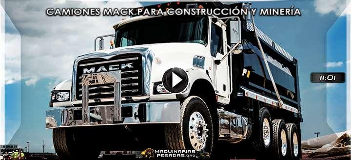 Vídeo: Camiones Mack para Construcción y Minería - Características y Beneficios