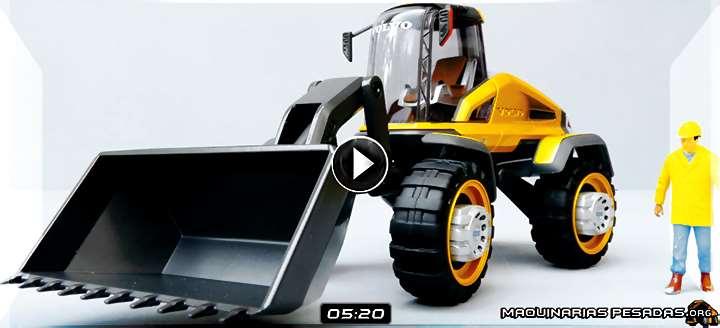 Vídeo de Cargador Frontal Gryphin Volvo – Diseño Futurista y Tecnologías